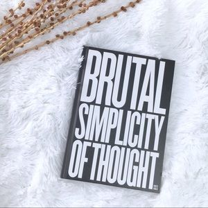 """Philosophy """"Brutal Simplicity of Thought"""" Book"""